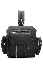 Alexander Wang Marite Backpack With Leather Black