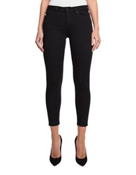 Democracy Emily Mid Rise Skinny Ankle Jeans Black