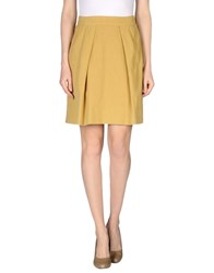 E Go Skirts Knee Length Skirts Women Sand