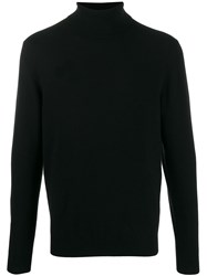 Cruciani Classic Turtleneck Sweater Black