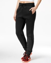 Nike Rally Quilted Jogger Sweatpants Black