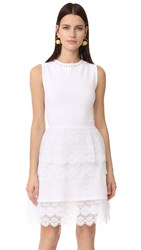 Antonio Berardi Sleeveless Dress Bianco Ottico