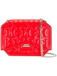 Givenchy Bow Cut Crossbody Bag Red