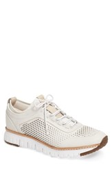 Cole Haan Men's Zerogrand Sneaker White Ivory Leather