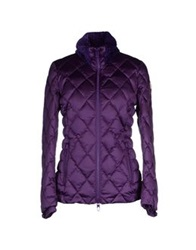 Vdp Club Down Jackets Purple