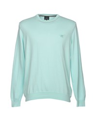 Henry Cotton's Sweaters Sky Blue
