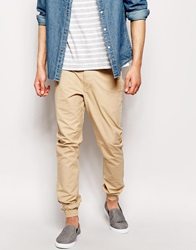 Only And Sons Cuffed Chinos In Straight Fit Cornstalkstone