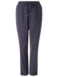 Phase Eight Anita Soft Trousers Navy