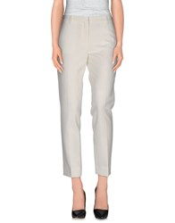 Mauro Grifoni Trousers Casual Trousers Women White
