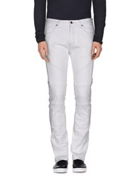 Hugo Denim Denim Trousers Men White