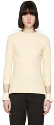 Toga Beige Flare Sleeves Pullover