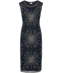 Cc Cornelli Shift Dress Navy