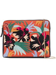 Lizzie Fortunato Jewels 'Cuban Hibiscus' Clutch
