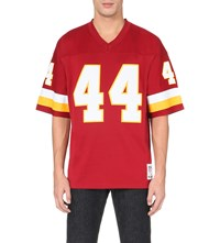 Mitchell And Ness John Riggins Mesh Jersey Top Burgundy