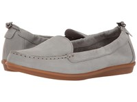 Hush Puppies Endless Wink Frost Grey Nubuck Women's Slip On Shoes Gray