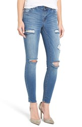 1822 Denim Women's Destroyed Skinny Jeans