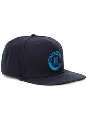 Crooks And Castles Navy Embroidered Twill Cap