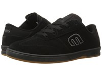 Etnies Lo Cut Black Red Gum Men's Skate Shoes