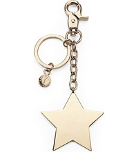 Aspinal Of London Gold Plated Star Keyring