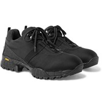 Alyx Mesh Trimmed Tech Canvas Sneakers Black