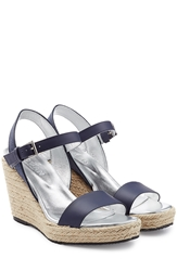 Hogan Leather Wedges