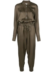 Cinq A Sept Joyce Jumpsuit Green