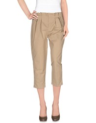 Elisabetta Franchi For Celyn B. Trousers 3 4 Length Trousers Women Beige