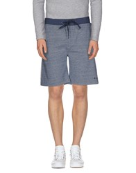Marc By Marc Jacobs Trousers Bermuda Shorts Men Slate Blue