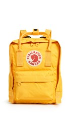 Fjall Raven Fjallraven Kanken Mini Backpack Warm Yellow