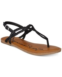 548e58c547b American Rag Keira Braided Flat Sandals Created For Macy s Women s Shoes  Black