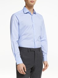 Smyth And Gibson Cotton Long Sleeve Check Shirt Blue