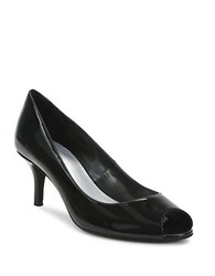 Tahari Janna Open Toe Pumps