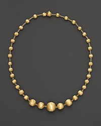 Marco Bicego Africa Collection 18K Yellow Gold Bead Necklace 17 No Color