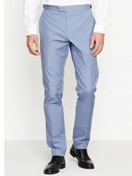 Reiss Jeremy Slim Fit Trousers Soft Blue