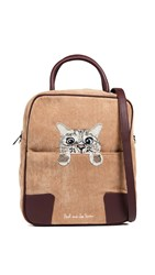 Paul And Joe Sister Klouis Tote Bag Camel
