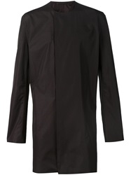Haider Ackermann Long Collarless Shirt
