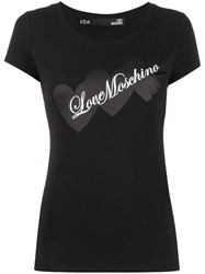 Love Moschino Heart Print T Shirt 60