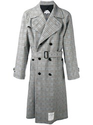 Maison Martin Margiela Re Edition Checked Trench Coat Beige