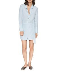 Halston Heritage Shirt Dress Chambray