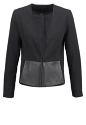 Tom Tailor Denim Blazer Black
