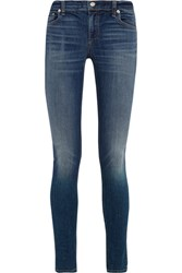 Rag And Bone Low Rise Skinny Jeans Mid Denim