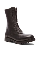Helmut Lang Combat Boots In Black
