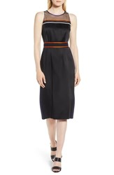 Boss Dartona Sheath Dress Black