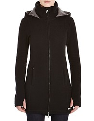 Bench Loris Slim Fit Hooded Jacket Jet Black