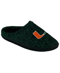 Forever Collectibles Miami Hurricanes Knit Cup Sole Slipper Assorted