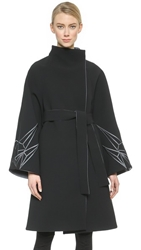 Gareth Pugh Wide Arm Coat Black