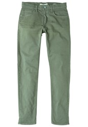 Mango Alex Slim Fit Jeans Dark Green