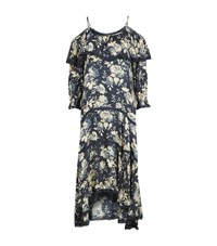 Denim And Supply Ralph Lauren Cadence Printed Dress Female Blue