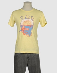 April 77 Short Sleeve T Shirts Yellow