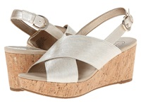 Circa Joan And David Wandy Off White Synthetic Women's Wedge Shoes